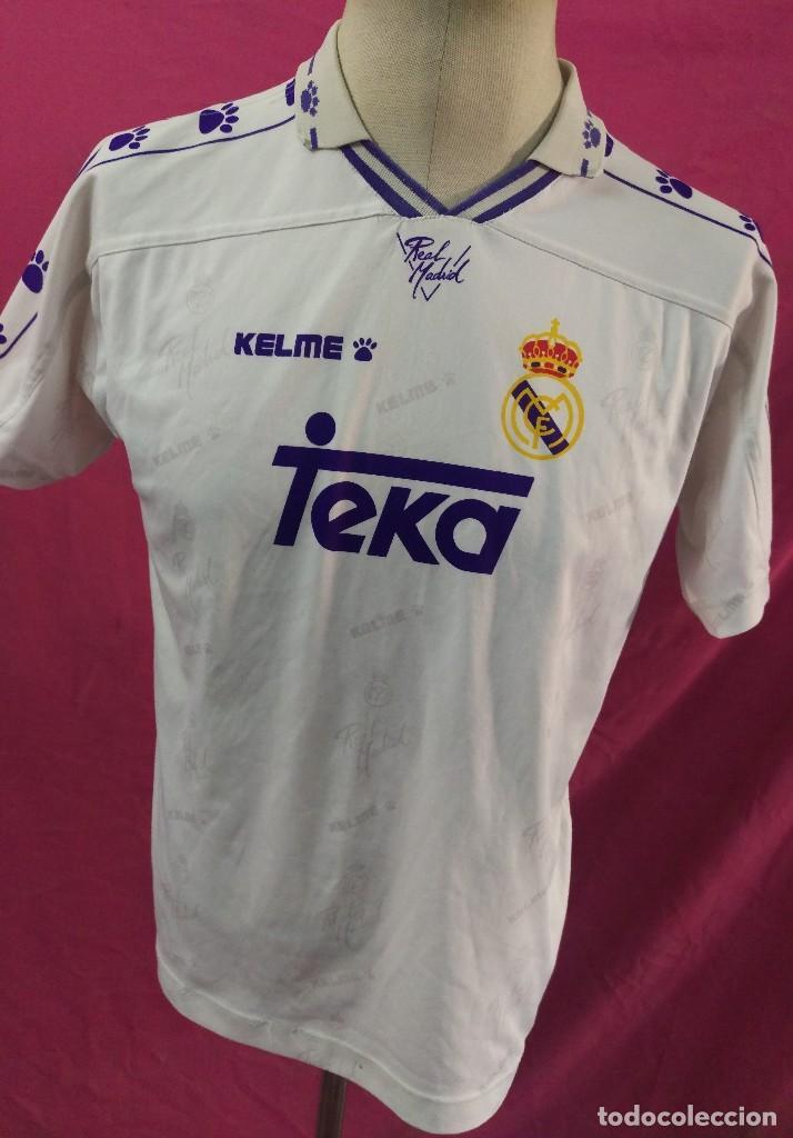 335463f00e093 camiseta futbol original kelme real madrid teka - Comprar Camisetas ...