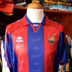 Coleccionismo deportivo: CAMISETA SHIRT FUTBOL F.C BARCELONA 1995-1996 KAPPA. Lote 90078528