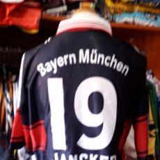 Coleccionismo deportivo: CAMISETA SHIRT TRIKOT BAYERN MUNICH Nº19 JANCKER 1997-1998 ADIDAS. Lote 90082488