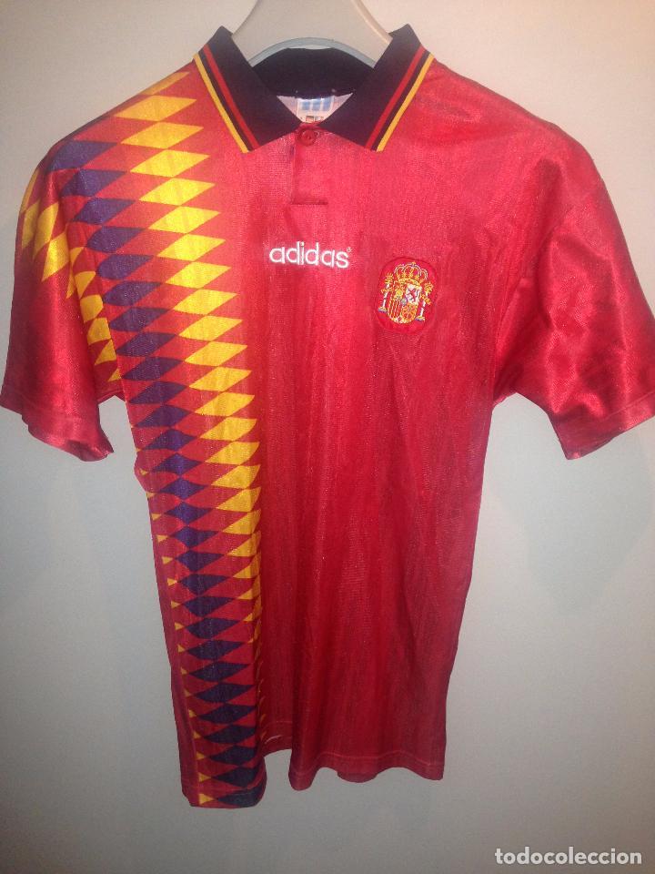 6da94f453283c Camiseta de españa mundial usa 94 - Vendido en Venta Directa - 90464534