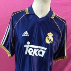 Coleccionismo deportivo: CAMISETA FÚTBOL REAL MADRID ORIGINAL ADIDAS. Lote 90765053