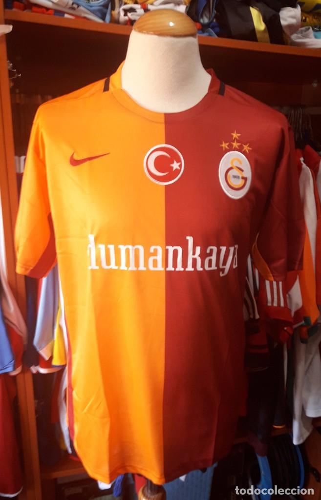 innovative design 74a74 7f7b8 Camiseta Shirt Futbol Galatasaray 2015-2016 Nike Turquia