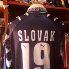Coleccionismo deportivo: CAMISETA SHIRT FUTBOL C.D TENERIFE Nº19 SLOVAK 1997-1998 75 ANIVERSARIO. Lote 90791835