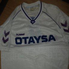 Coleccionismo deportivo: CAMISETA DEL REAL MADRID C.F. HUMMEL 1991.OFFICIAL SUPPLIER.OTAYSA .TALLA XXL.Nº 4 TENDILLO. Lote 90830625