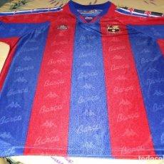 Coleccionismo deportivo: CAMISETA OFICIAL BARCELONA AÑOS 90KAPPA XL. Lote 90836755