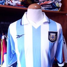 Coleccionismo deportivo: CAMISETA SHIRT FUTBOL SELECCION ARGENTINA 1999 REBOOK. Lote 91651485