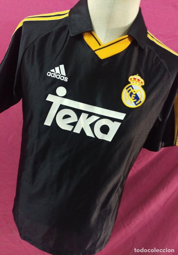 CAMISETA FUTBOL ORIGINAL ADIDAS REAL MADRID TEKA (Coleccionismo Deportivo -  Ropa y Complementos - Camisetas 13f1062069efc