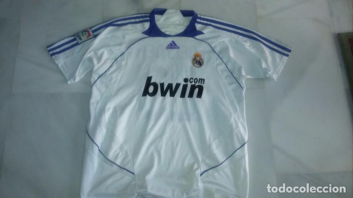 CAMISETA REAL MADRID SNEIJDER TALLA L (Coleccionismo Deportivo - Ropa y Complementos - Camisetas de Fútbol)