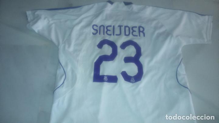 Coleccionismo deportivo: CAMISETA REAL MADRID SNEIJDER TALLA L - Foto 2 - 92834065