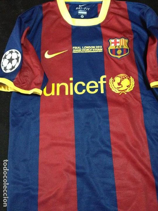 CAMISETA FINAL LONDON WEMBLEY 2011 LEO MESSI NO MATCH WORN FUTBOL CLUB FC  BARCELONA CF BARÇA dd2eadd53ac