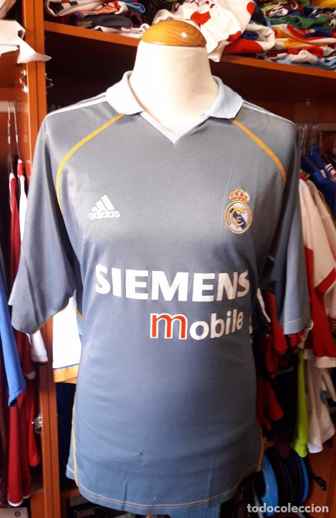 new product 17a62 72c60 REAL MADRID 2003-2004 Camiseta Shirt Trikot Maglia 3ª equipacion