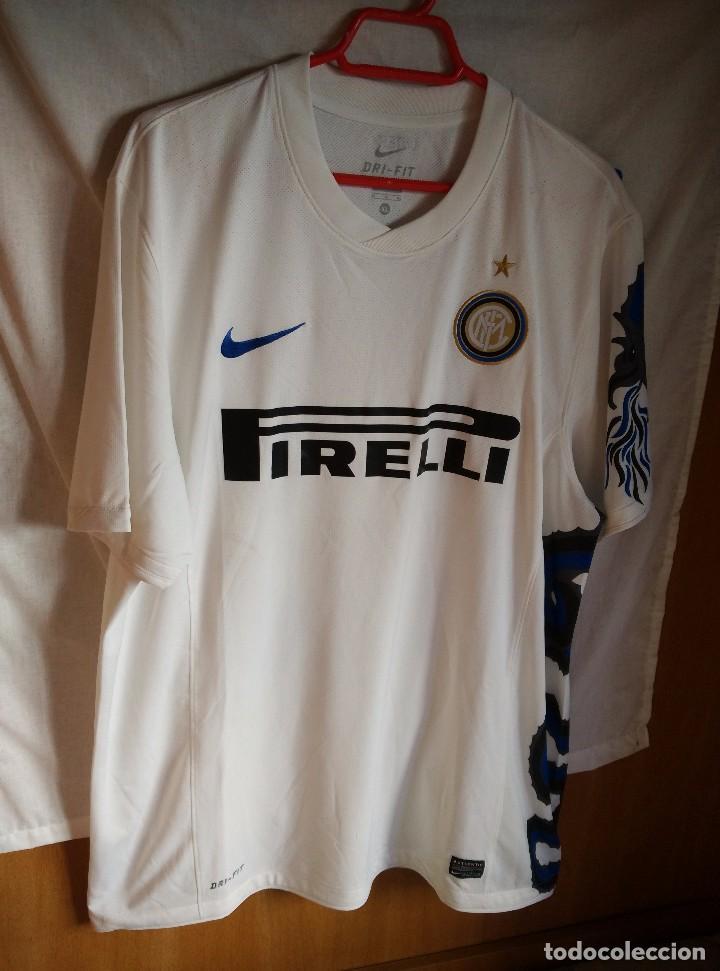 official photos ebdbb d9d39 Original | Futbol | Talla XL | Camiseta del Inter de Milan , la del dragon