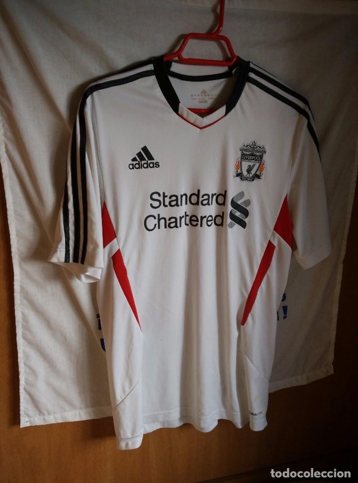 ORIGINAL | FUTBOL | TALLA L | CAMISETA DEL LIVERPOOL (Coleccionismo Deportivo - Ropa y Complementos - Camisetas de Fútbol)