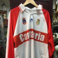 Coleccionismo deportivo: CAMISETA DE FUTBOL SELECCION TERRITORIAL CANTABRA - CANTABRIA - TALLA XL. Lote 95136687