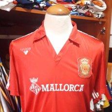 Coleccionismo deportivo: CAMISETA FUTBOL R.C.D MALLORCA Nº15 MATCH WORN 1986-1987 GILCOR. Lote 95720875