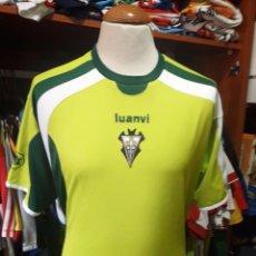 Coleccionismo deportivo: CAMISETA SHIRT FUTBOL ALBACETE BALOMPIE 2008 VERDE LUANVI. Lote 95720939