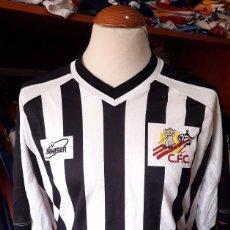 Coleccionismo deportivo: CAMISETA SHIRT FUTBOL CARTAGONOVA F.C AÑOS 90S VINTAGE BEMISER. Lote 95890107