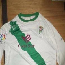 Coleccionismo deportivo: CAMISETA DEL CÓRDOBA CLUB DE FÚTBOL 2008 .2ª DIVISIÓN.3ªEQUIPACIÓN MANGA LARGA TALLA L.PROD. OFICIAL. Lote 95908319