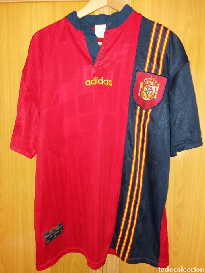 cada vez Obligatorio patrimonio  antigua camiseta selección española - adidas - - Buy Football T ...