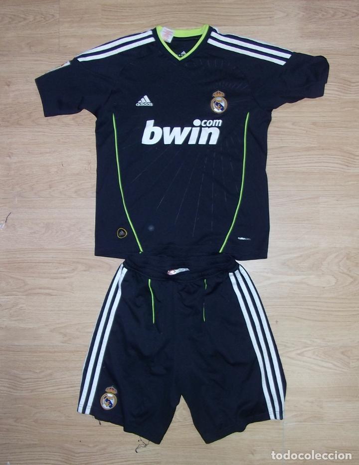 segunda equipacion real madrid futbol