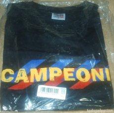 Coleccionismo deportivo: BARCELONA F.C. CAMISETA CAMPEONES T/L - PRECINTADO ORIGINAL- IMPORTANTE LEER DESCRIPCION. Lote 97283163