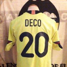 Coleccionismo deportivo: #20 DECO CAMISETA FUTBOL FC BARCELONA 2005-2006 NIKE 2ª EQUIPACION. Lote 97995855