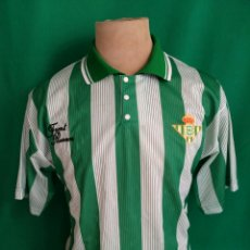 Coleccionismo deportivo: CAMISETA FRONT RUNNER R. BETIS BALOMPIÉ 91/92. Lote 98150475