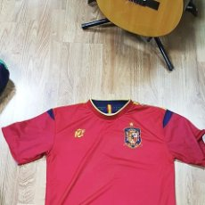 Coleccionismo deportivo: CAMISETA SELECCIÓN ESPAÑOLA. REVERSIBLE, TALLA L - . Lote 98447559