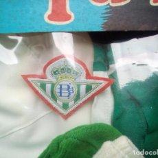 Coleccionismo deportivo: BETIS EQUIPO DE FUTBOLISTA - EQUIPACIÓN DEL REAL BETIS - RIVESA, AÑOS 70 TALLA 2 5€ ENVIO*. Lote 98933515