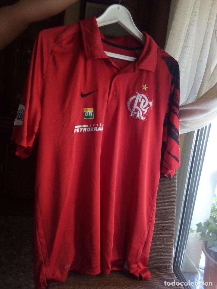 0a69df159f CAMISETA FLAMENGO LIGA BRASILEÑA TALLA L NIKE FABRICADA EN BRASIL  (Coleccionismo Deportivo - Ropa y