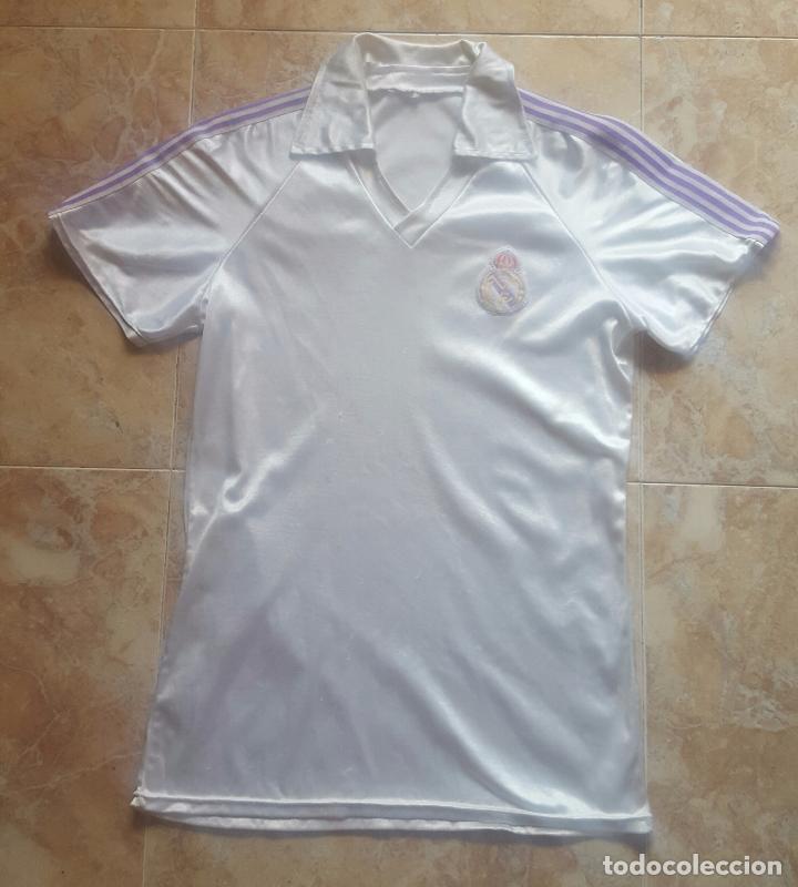 e722f49b6bc9 Camiseta oficial real madrid años 80 - joya y u - Vendido en Venta ...
