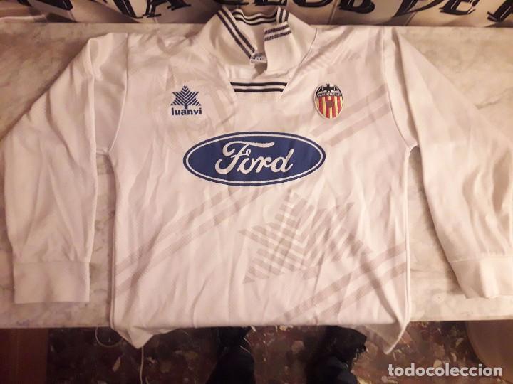 c35379820 Camiseta shirt futbol valencia c.f años 90 luan - Vendido en Venta ...