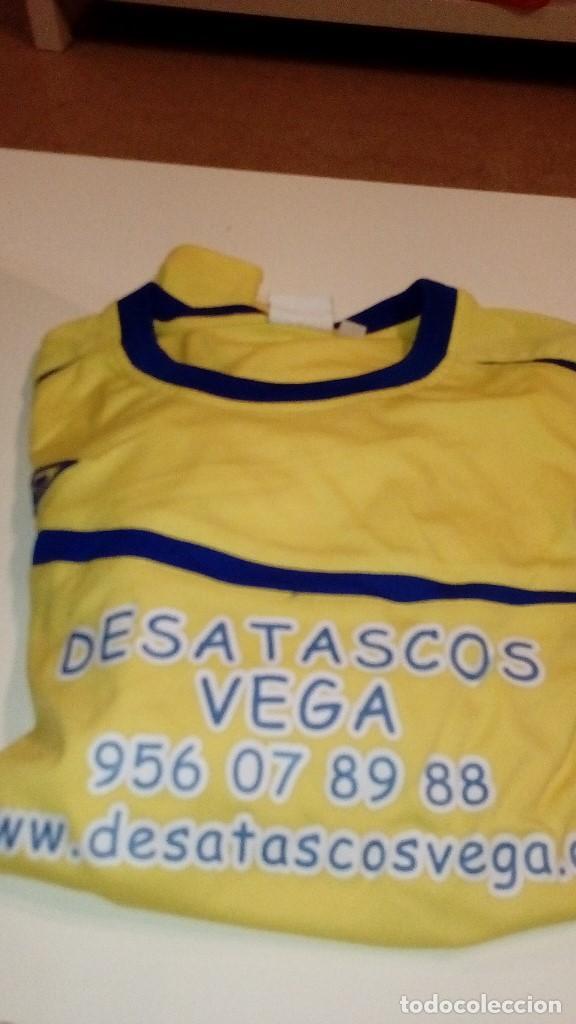 G-151217 CAMISETA DE FUTBOL AMARILLA UMBRO TALLA X LARGE NUMERO 7 A LA ESPALDA (Coleccionismo Deportivo - Ropa y Complementos - Camisetas de Fútbol)