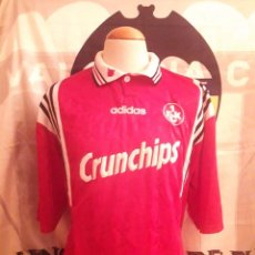 Coleccionismo deportivo: CAMISETA SHIRT TRIKOT FUTBOL 1.FC KAISERSLAUTERN 1996-1997 ADIDAS. Lote 101626551