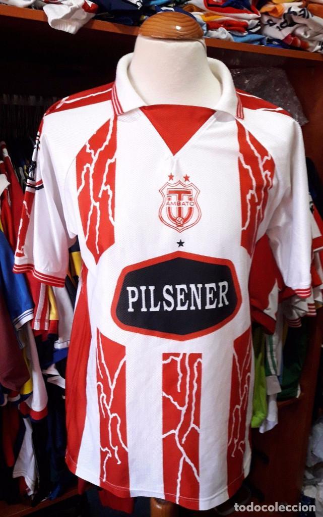 CAMISETA AMBATO FC ECUADOR TALLA L (Coleccionismo Deportivo - Ropa y Complementos - Camisetas de Fútbol)