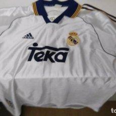 Coleccionismo deportivo: ANTIGUA CAMISETA REAL MADRID TEKA ADIDAS. Lote 102697943