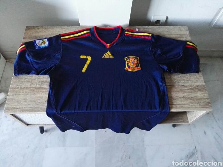 CAMISETA SELECCIÓN ESPAÑOLA ESPAÑA FUTBOL (Coleccionismo Deportivo - Ropa y Complementos - Camisetas de Fútbol)