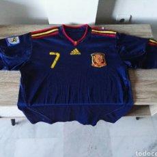 Coleccionismo deportivo - Camiseta selección española españa futbol - 103062003