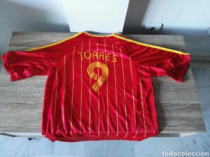 Coleccionismo deportivo: Camiseta selección española españa futbol - Foto 2 - 103062294