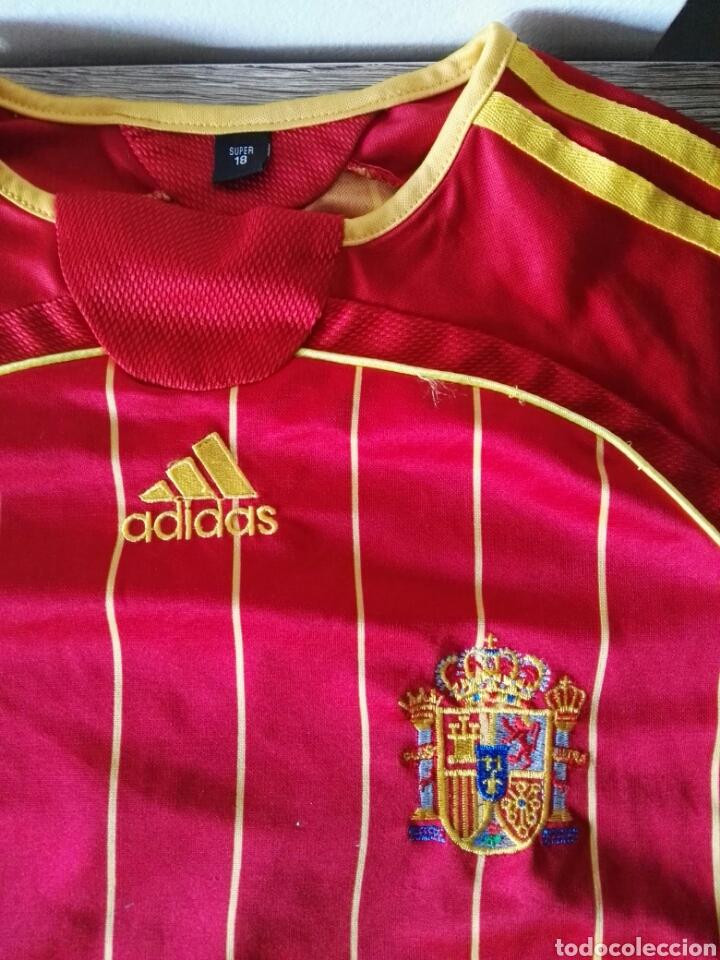 Coleccionismo deportivo: Camiseta selección española españa futbol - Foto 3 - 103062294