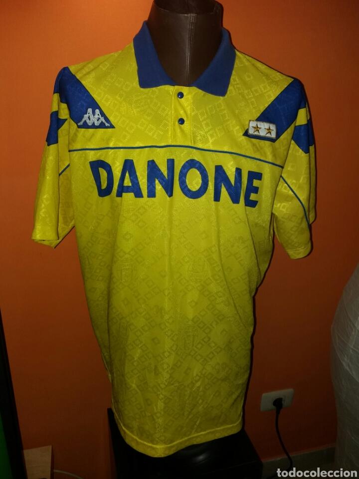 4da4eb287 Antigua camiseta JUVENTUS - Temporada 92-93 - KAPPA XL - DANONE - MUY RARA