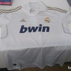 Coleccionismo deportivo: ANTIGUA CAMISETA REAL MADRID ADIDAS BWIN. Lote 103415223