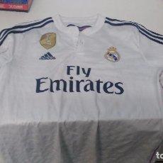 Coleccionismo deportivo: ANTIGUA CAMISETA REAL MADRID ADIDAS FLY EMIRATES. Lote 103415307