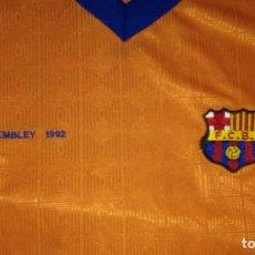Coleccionismo deportivo: CAMISETA FÚTBOL CLUB BARCELONA WEMBLEY 1992. Lote 103718271