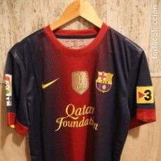 Coleccionismo deportivo: CAMISETA MATCH WORN FC BARCELONA 2012-2013 MESSI. Lote 118904595
