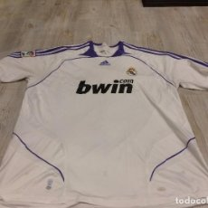 Coleccionismo deportivo: CAMISETA DEL REAL MADRID C.F - TALLA XL - BWIN - MARCA ADIDAS - AÑO 2007. Lote 103835499