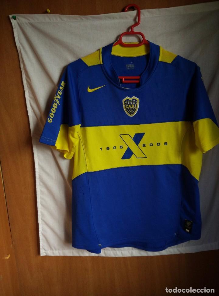 check out 2e21e f89f7 ORIGINAL | FUTBOL | TALLA M | Camiseta Boca Juniors centenario