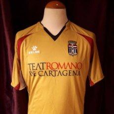 Coleccionismo deportivo: CAMISETA FUTBOL F.C CARTAGENA 2010-2011 3ª EQUIPACION KELME. Lote 104373023