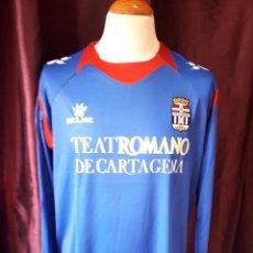 Coleccionismo deportivo: CAMISETA FUTBOL F.C CARTAGENA 2011-2012 3ªEQUIPACION MANGA LARGA. Lote 104373239
