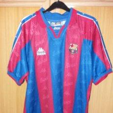 Sports collectibles - Antigua camiseta FC BARCELONA - DE LA PEÑA 23 - KAPPA - Talla L - 104540998